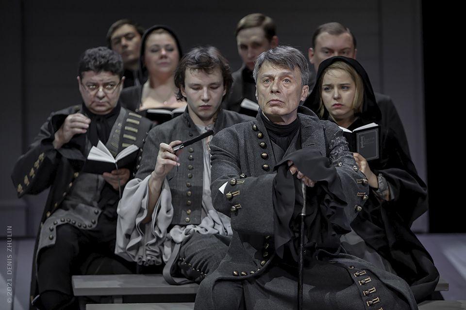 Спектакль «Школа жён» в Театре имени Маяковского фото 1