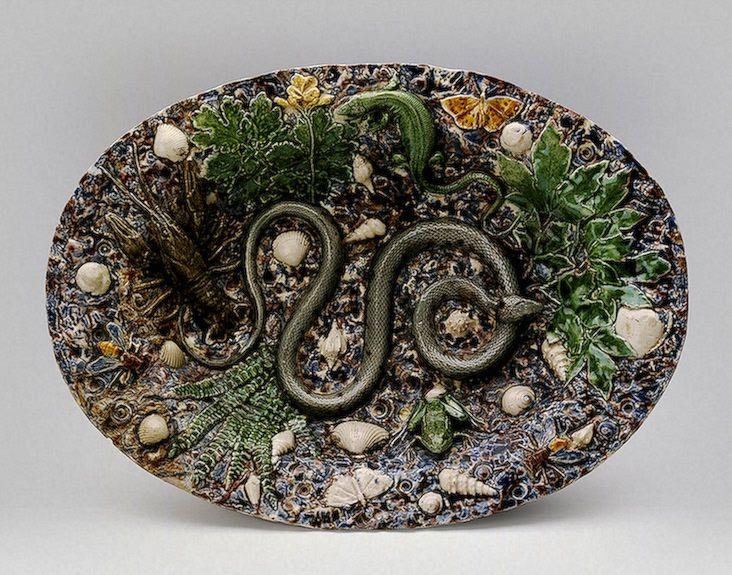«Французская керамика XVI-XX вв.» (постоянная экспозиция «Эрмитажа»)