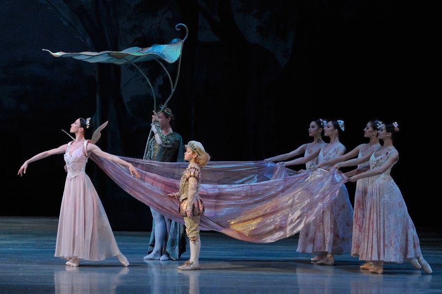 балет «Сон в летнюю ночь» в Мариинском театре