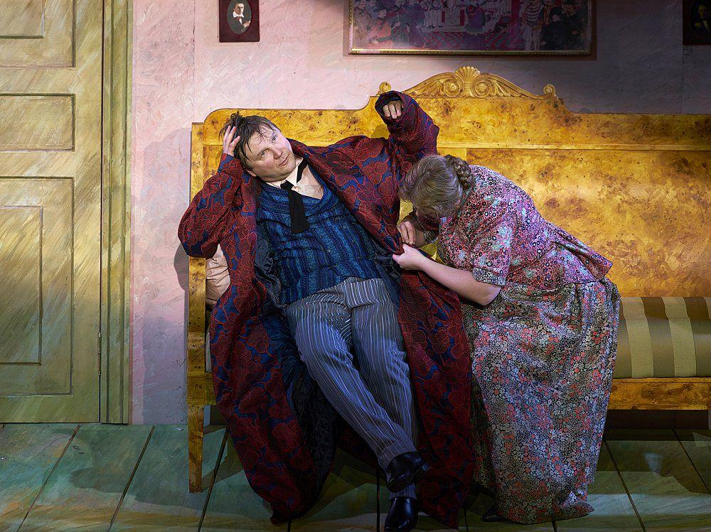 Спектакль «Обломов» в Театре Маяковского фото 9