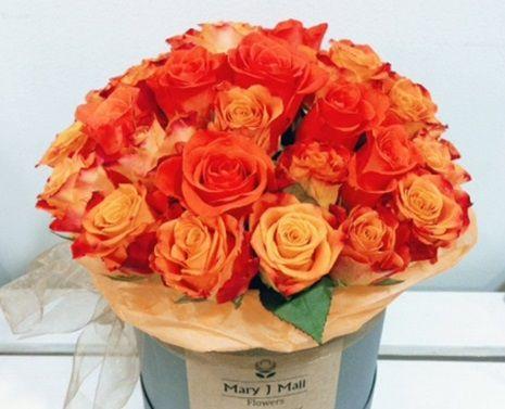 Розы и другие цветы от компании Mary J Mall Flowers со скидкой до 67% фото 1
