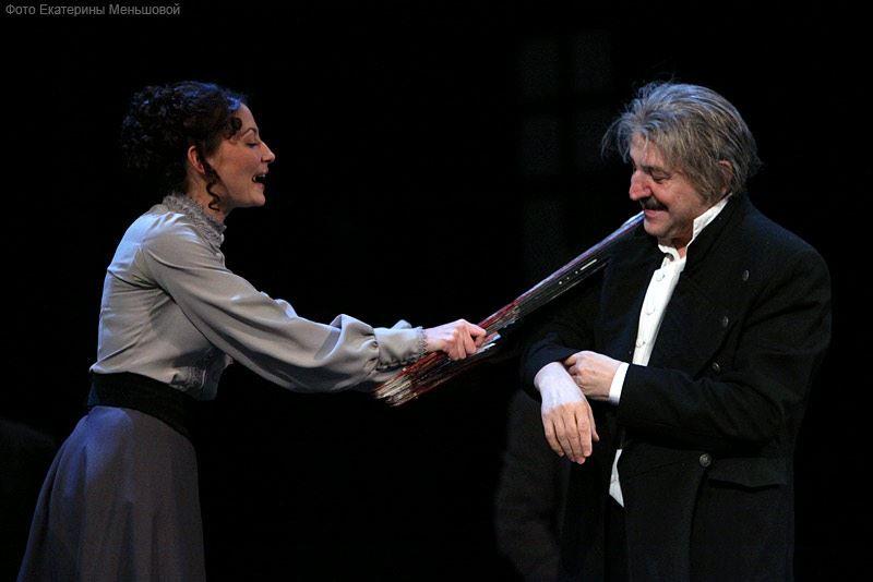Спектакль «Инь и Ян» Бориса Акунина в РАМТе фото 6