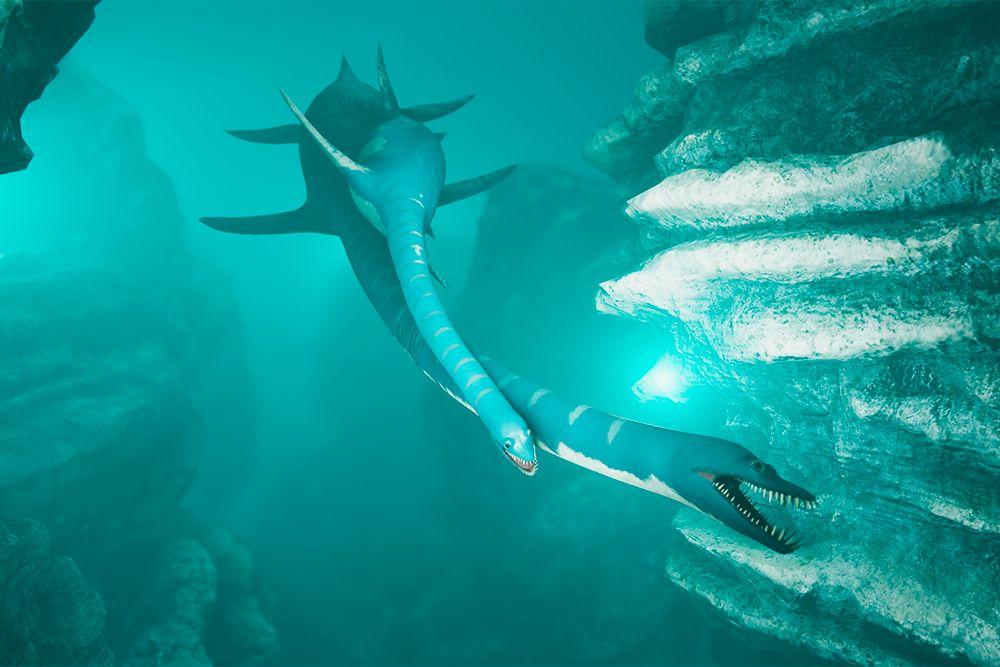 Интерактивная мультимедийная выставка «Океан юрского периода» в «Москвариуме» фото 4