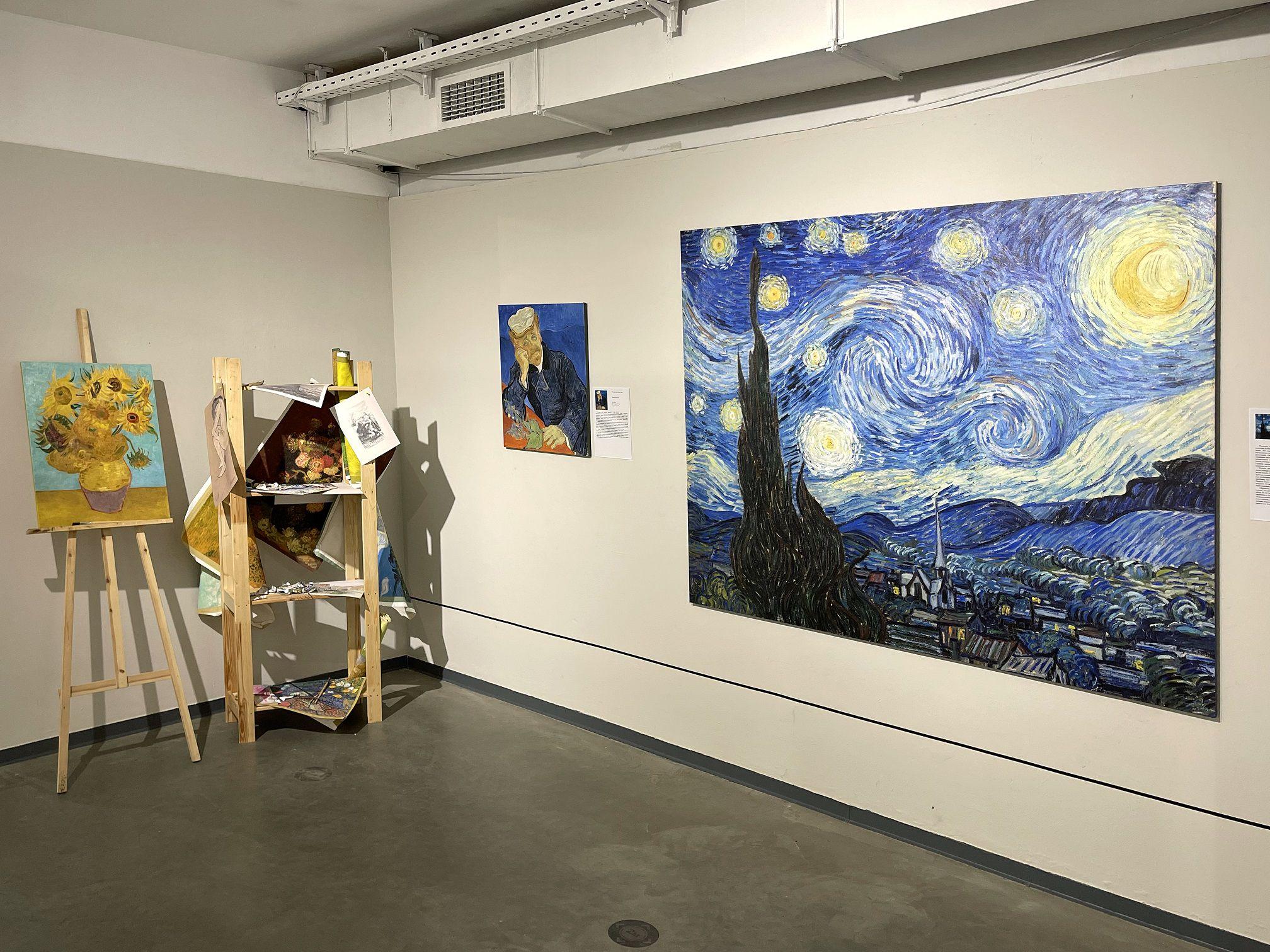 Выставка «Ван Гог — тайны гения или безумца» фото 3