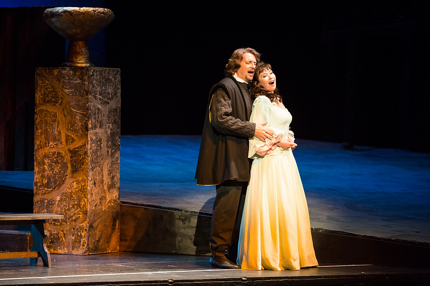 Спектакль «Риголетто» Дж. Верди в Театре «Новая опера» фото 5