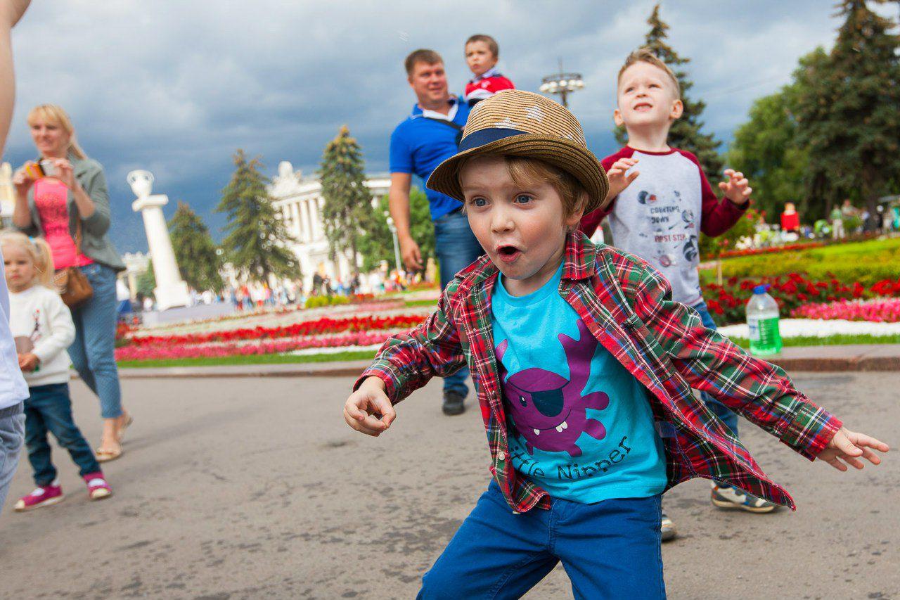 Город детей в фото