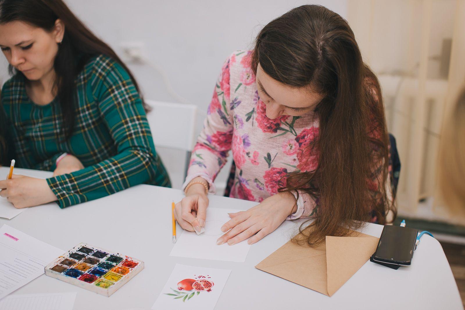 Бесплатный марафон по рисованию акварелью для новичков от студии живописи ZuART фото 2