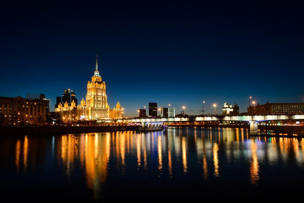 Автобусная экскурсия «Огни ночной Москвы» фото 5