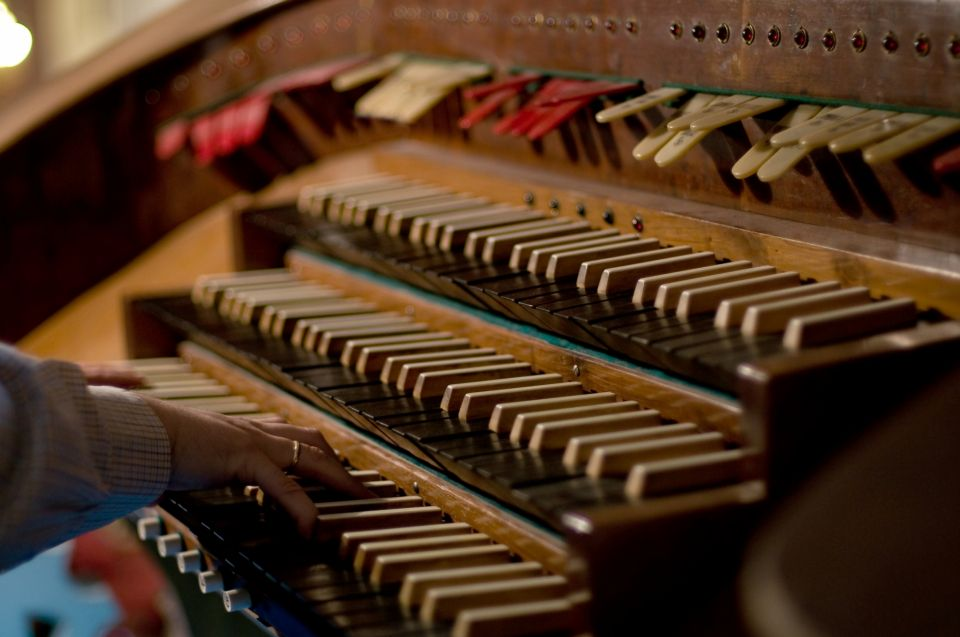 Органная музыка лучшая скачать