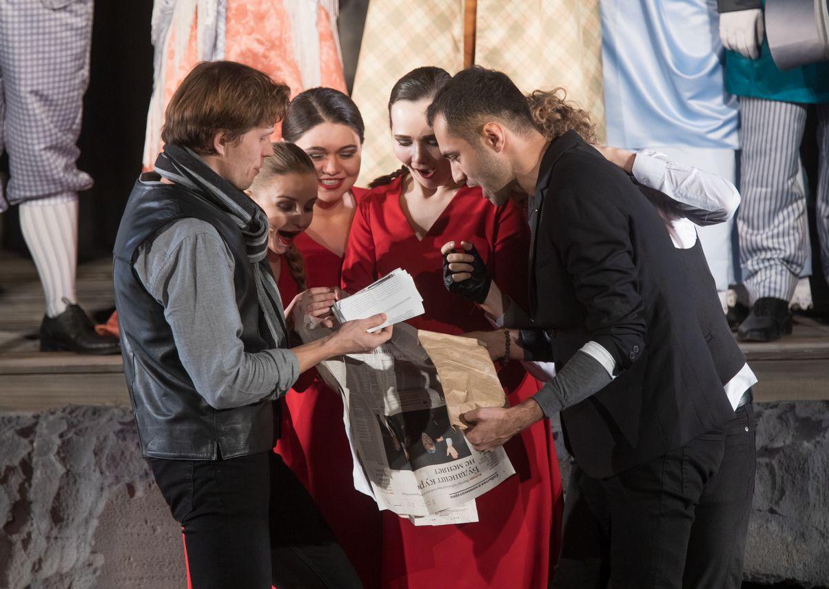 Спектакль «Шутники» в Театре «Сатирикон» фото 6