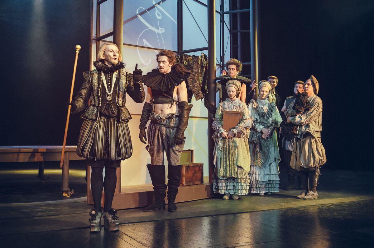 Спектакль «Влюблённый Шекспир» в Театре имени А. С. Пушкина фото 2