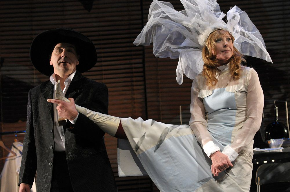 Спектакль «Бумажный брак»