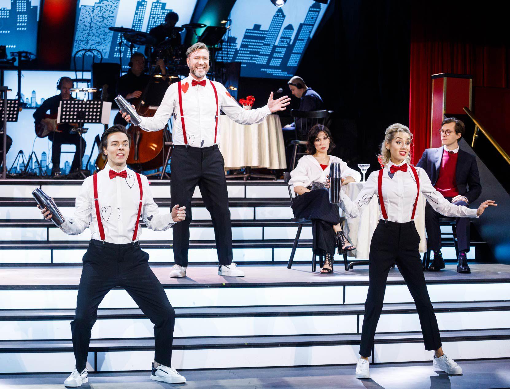Мюзикл за столиками «День влюблённых» в Театре МДМ фото 3