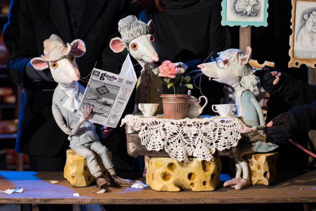 Спектакль «Все мыши любят сыр» в Московском театре кукол на Спартаковской фото 2