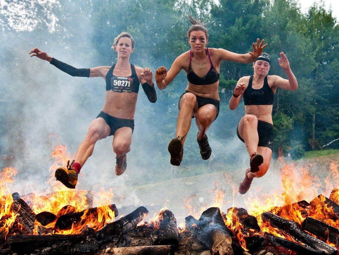Тренировки Bear Race в Измайловском парке фото 5
