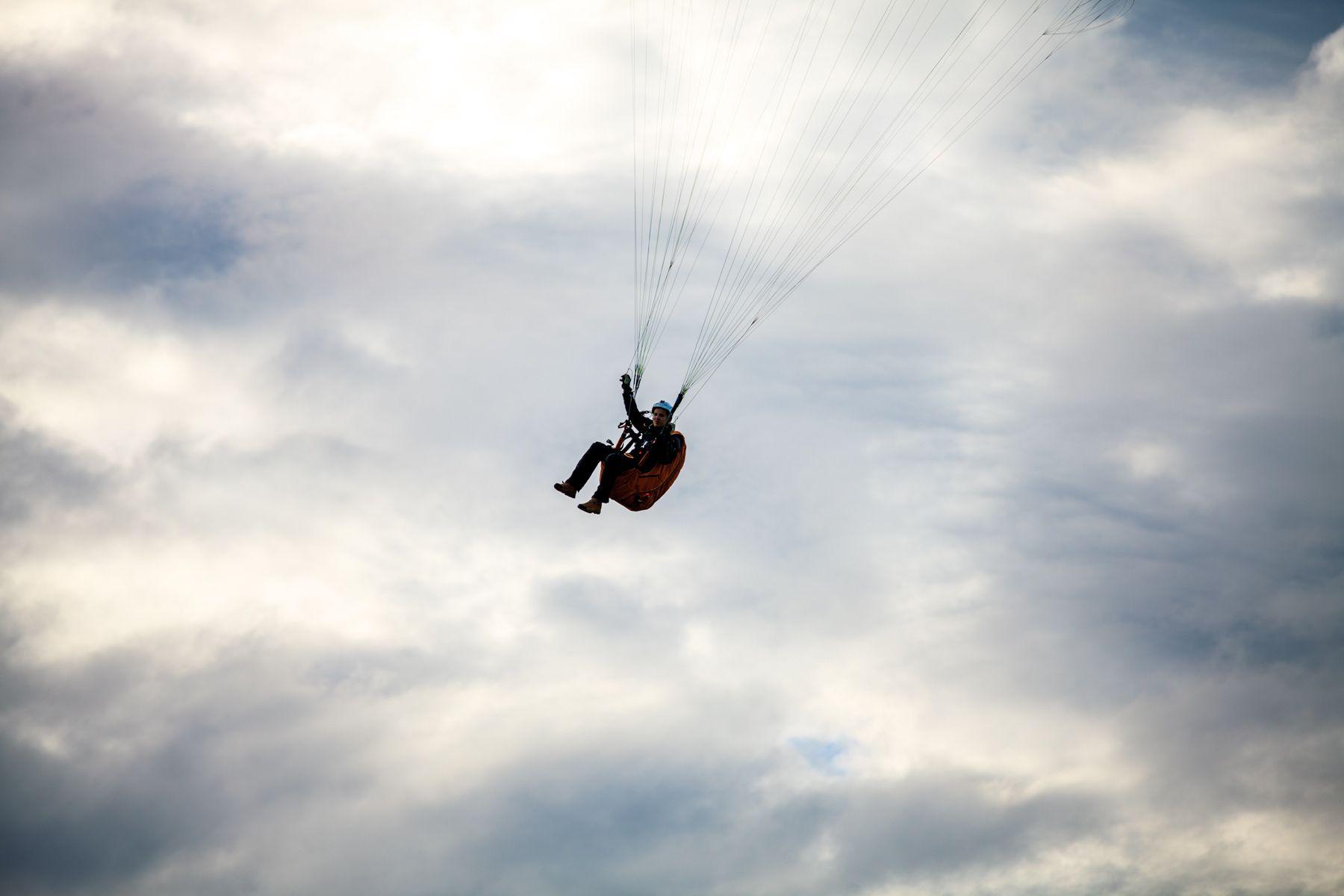 Обучающий полёт на параплане фото 2