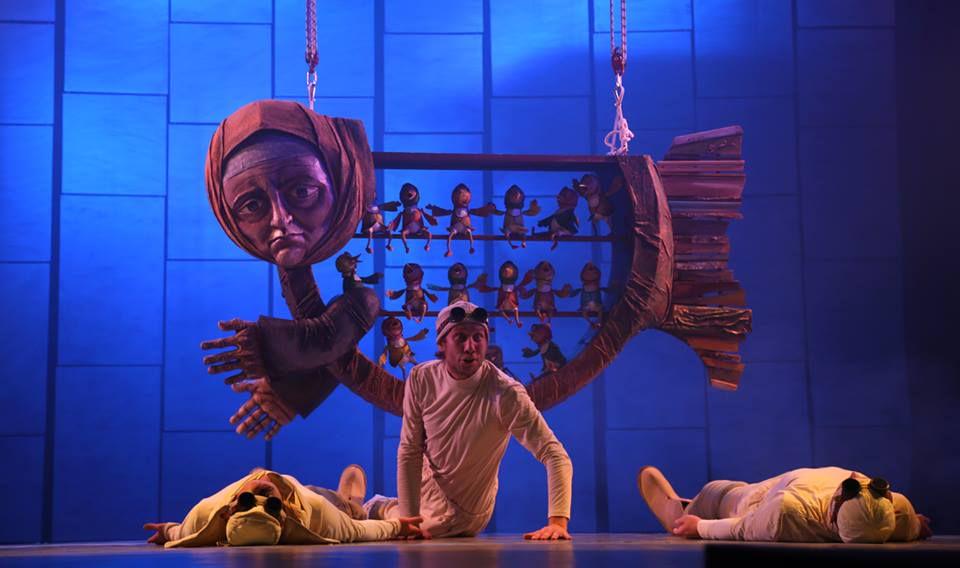 Спектакль «Морожены сказки» в Московском театре кукол на Спартаковской фото 4