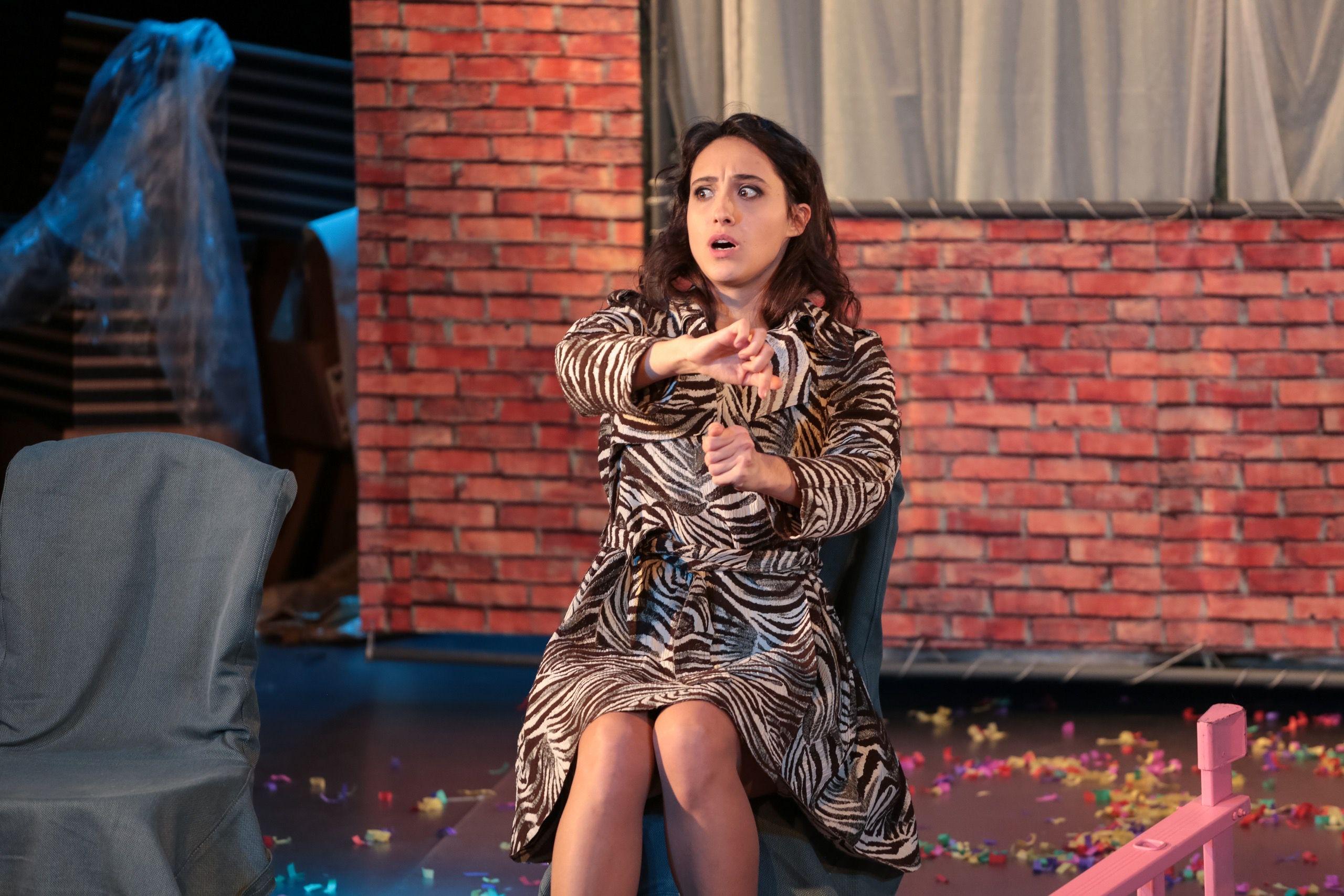 Спектакль «Пила вино и хохотала. Белое» в постановке «Театра двух» (Санкт-Петербург) фото 9