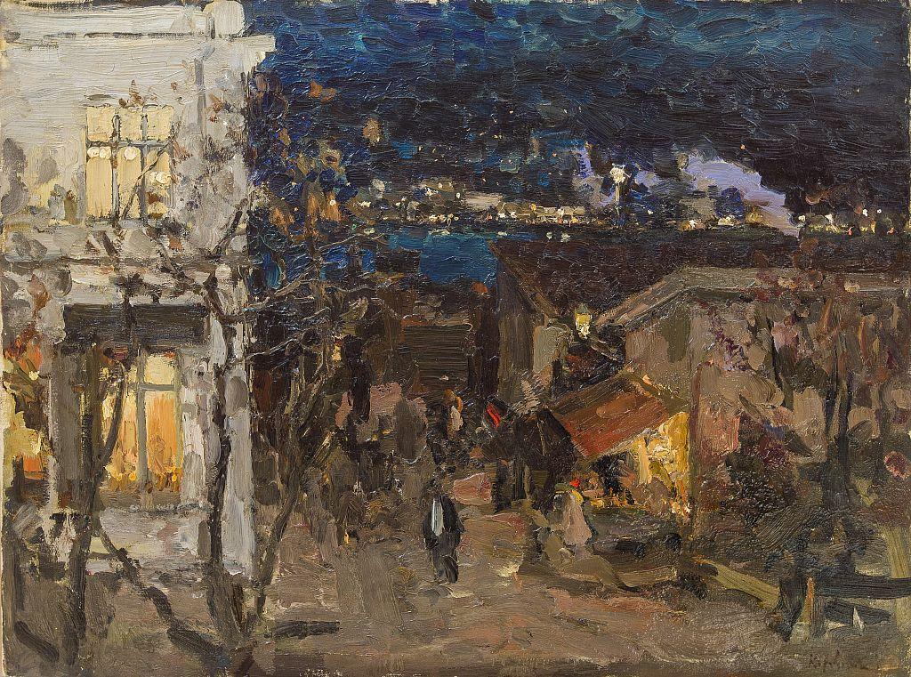 Выставка «Константин Коровин и Валентин Серов»