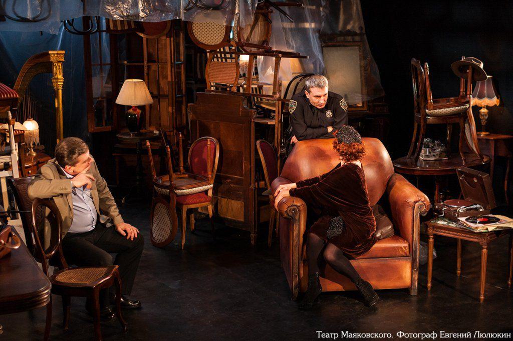 Спектакль «Цена» в Театре им. Вл. Маяковского фото 3
