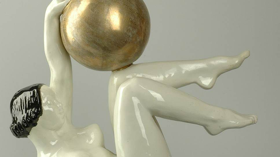 выставка «Спорт в советском фарфоре, графике, скульптуре»
