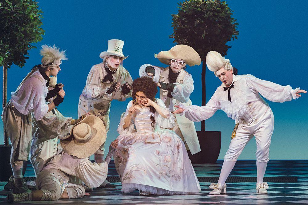 Опера «Севильский цирюльник» в Большом театре фото 7