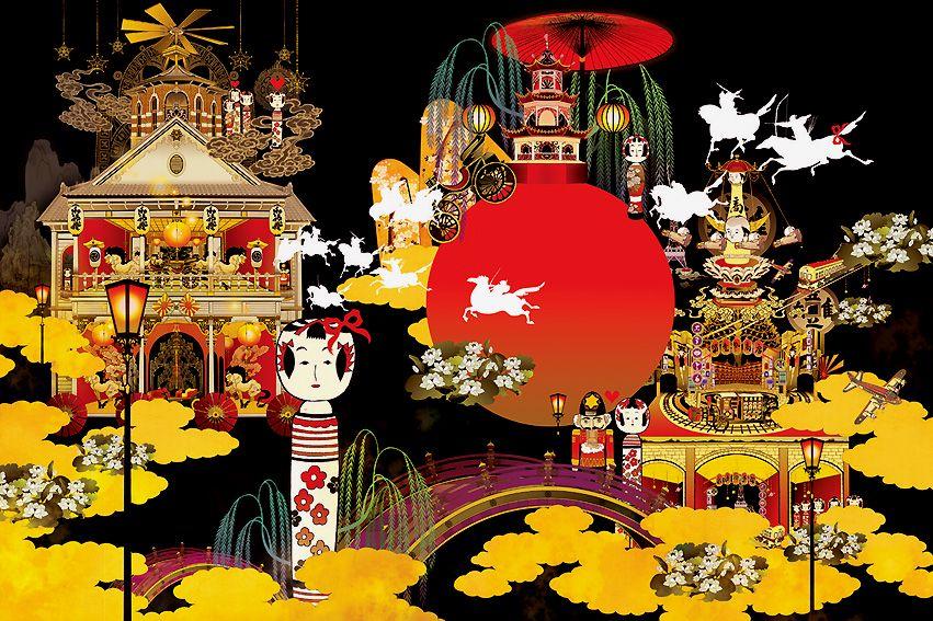 японские картинки к новому году самым высоким