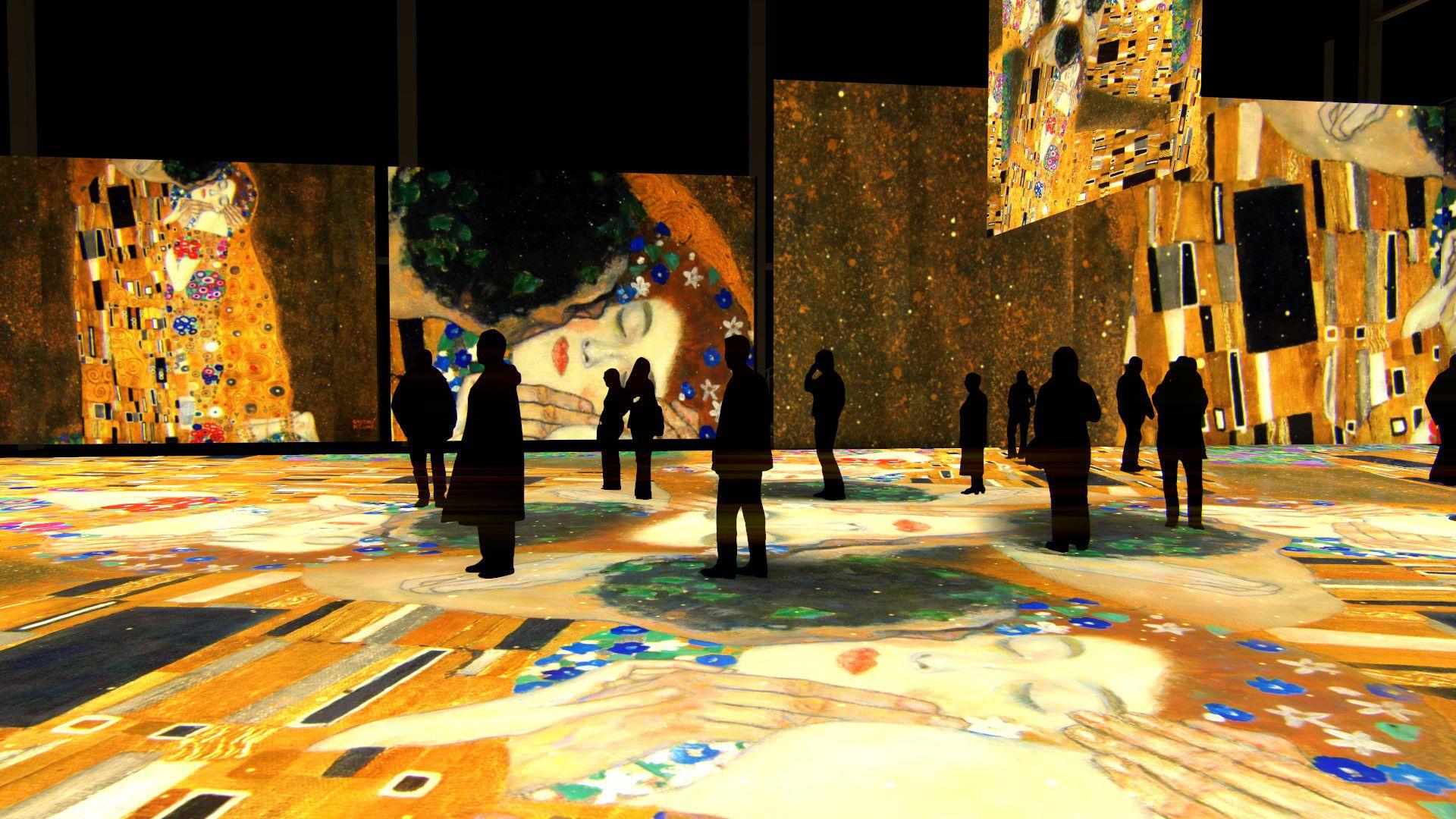 Мультимедийная выставка «Густав Климт. Золото модерна» фото 1