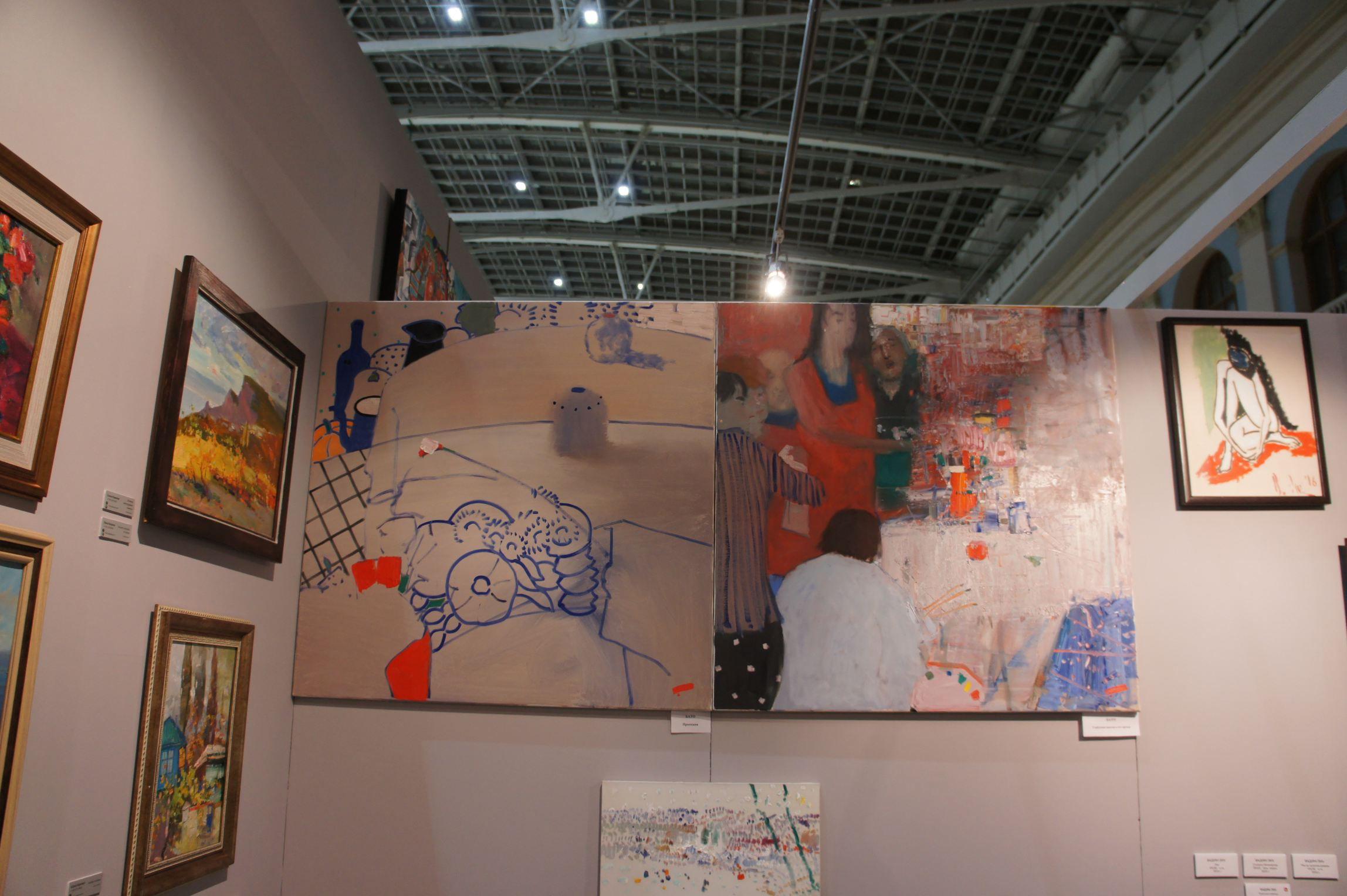 Московская художественная ярмарка фото 7