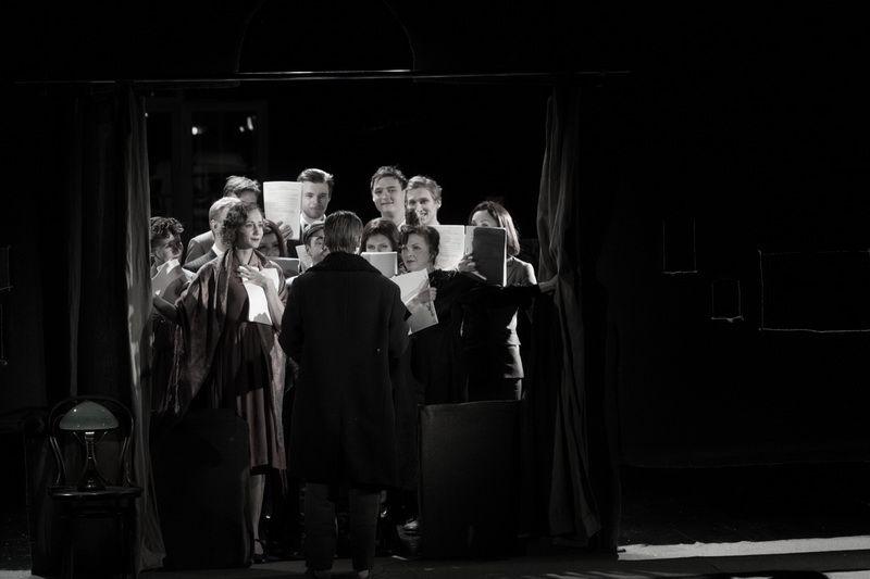 Спектакль «Записки покойника» в Студии театрального искусства фото 9