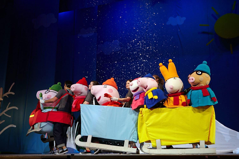 Свинка пеппа с новым годом смотреть онлайн