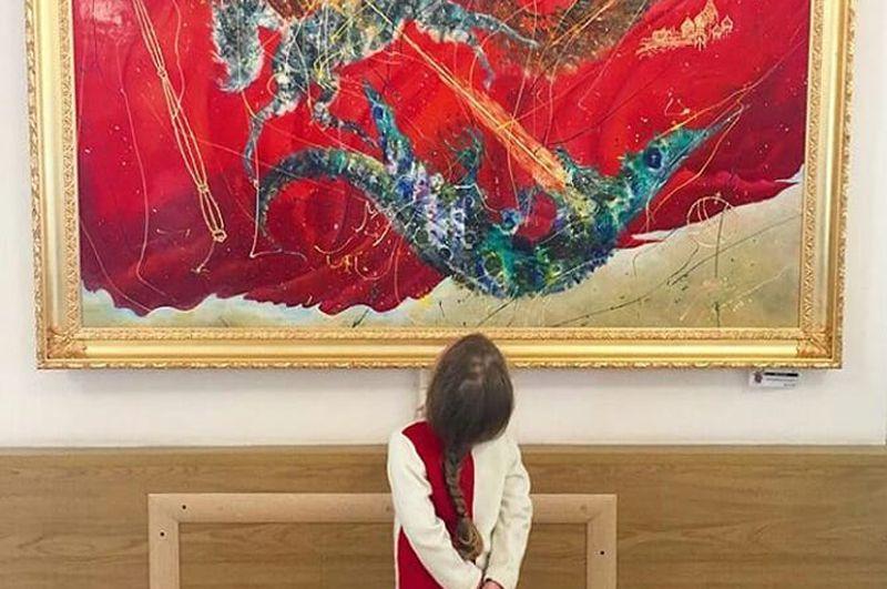 Выставка итальянского современного искусства Italiart Kremlin 2019 фото 7