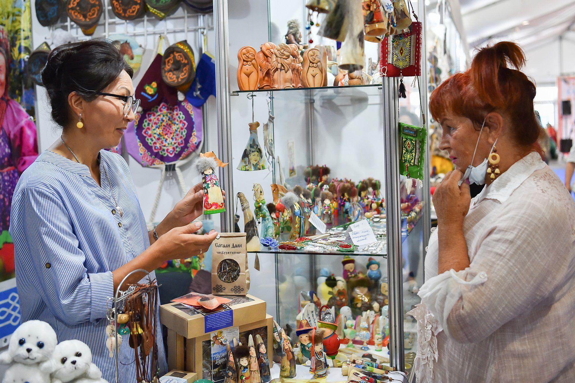 Выставка-ярмарка «Сокровища Севера. Мастера и художники России 2021» фото 5