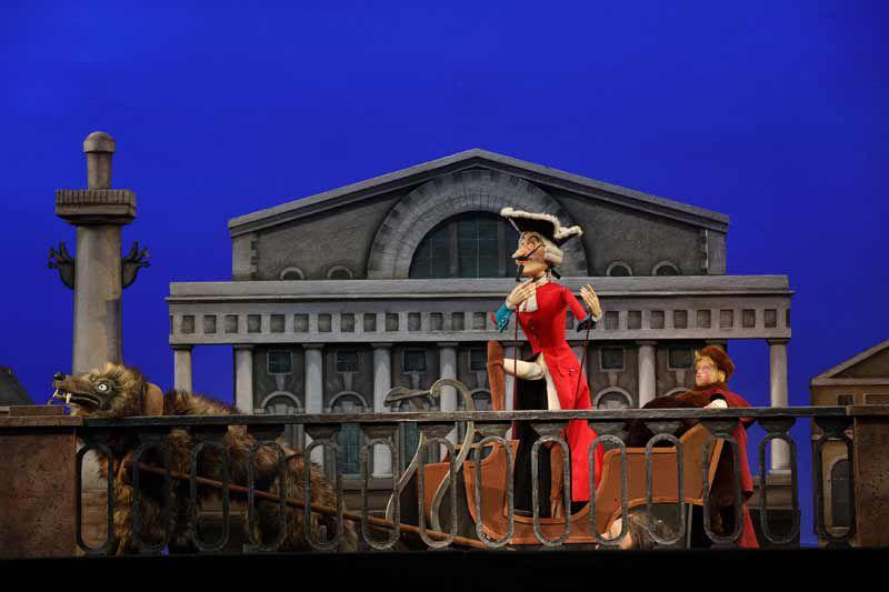 Спектакль «Барон Мюнхгаузен» в Театре кукол С. В. Образцова фото 1