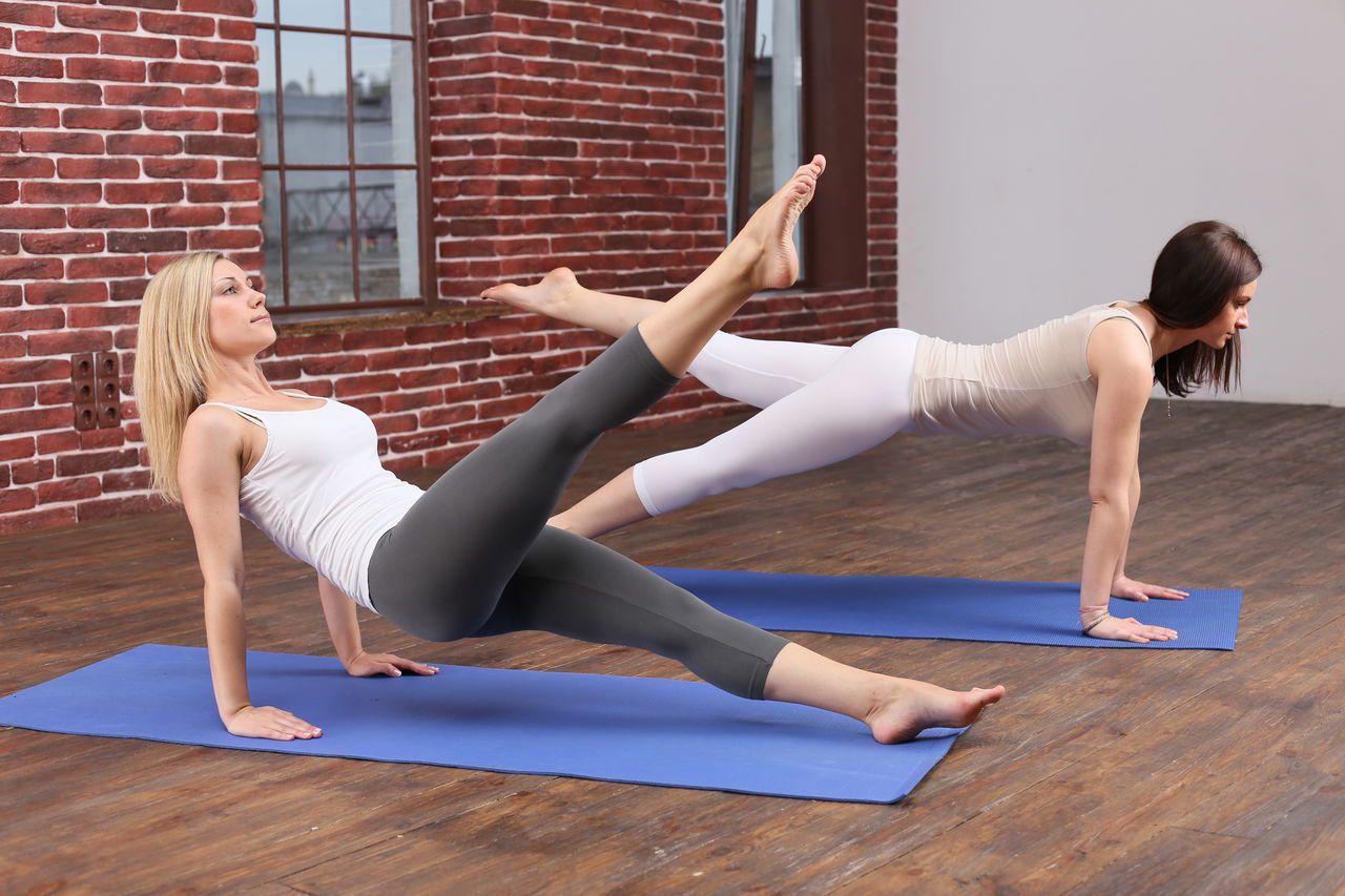Упражнения калланетики для похудения фото