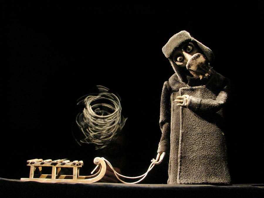 Спектакль «Ленинградка» в Театре кукол им. С. В. Образцова фото 2