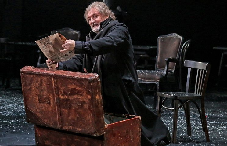 Спектакль «Минетти» в Театре им. Вахтангова фото 2