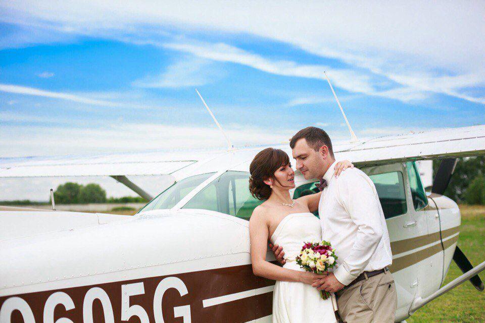 Романтический полёт на самолёте Cessna 172 фото 1
