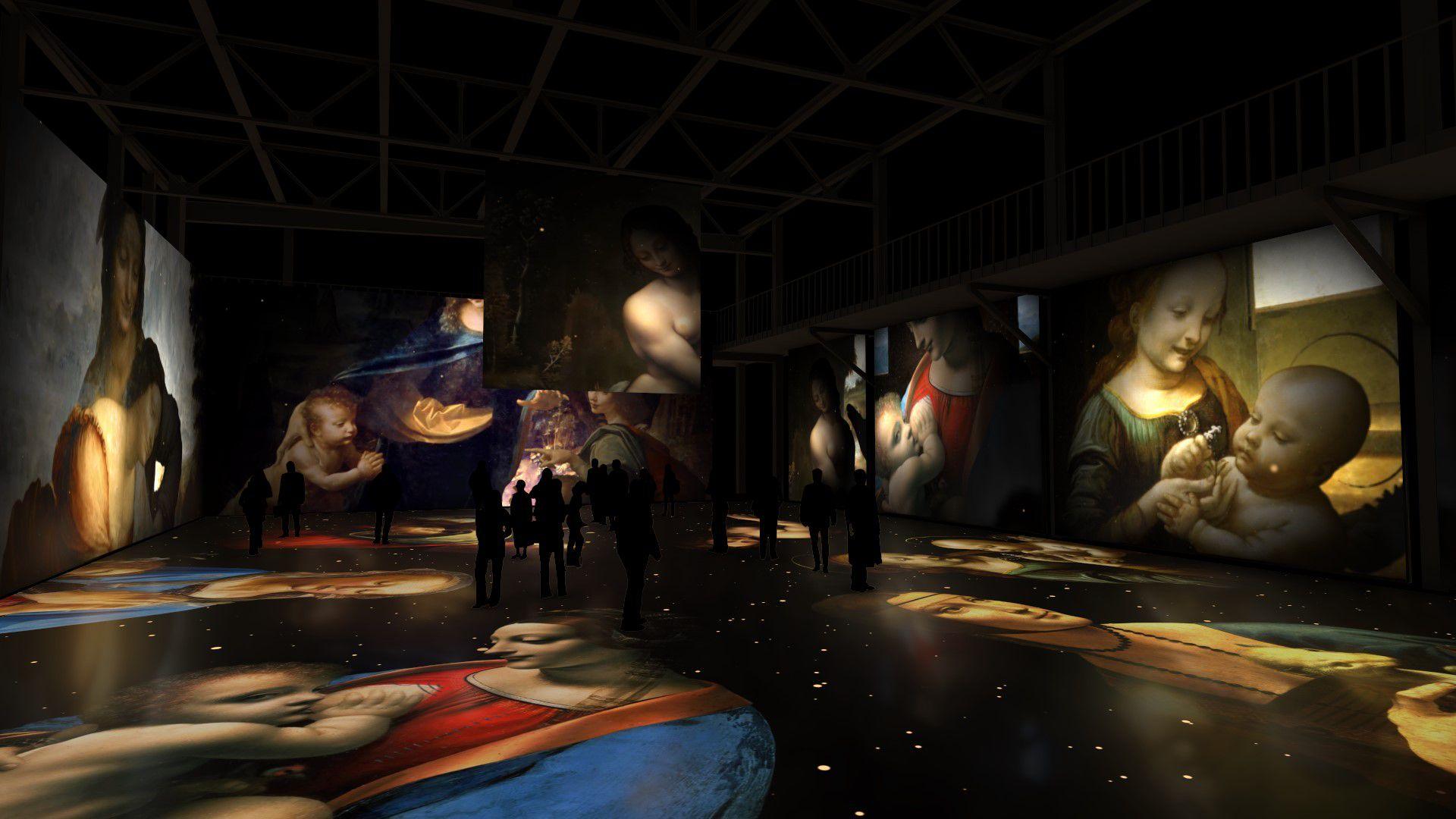 Мультимедийная выставка «Леонардо да Винчи. Тайна гения» фото 6