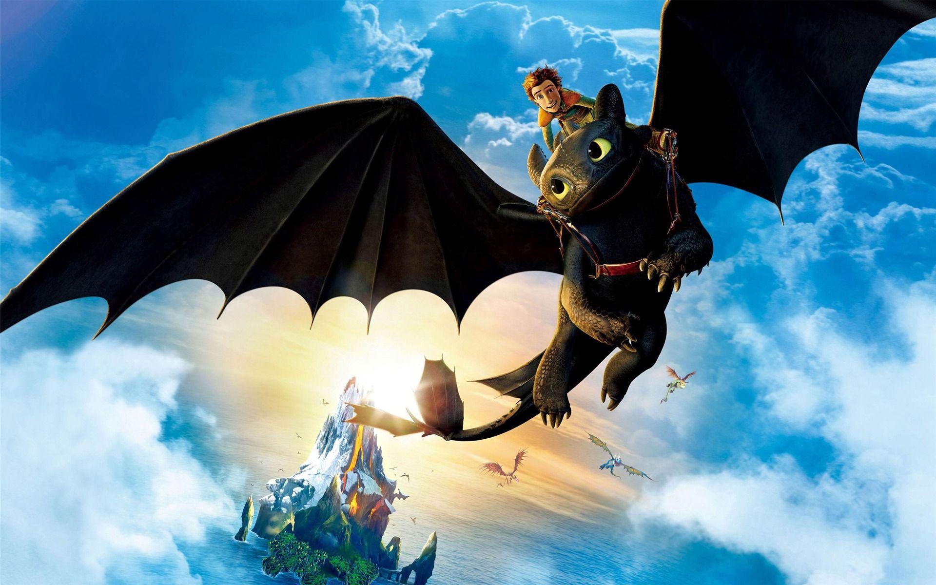 картинки как приручить дракона