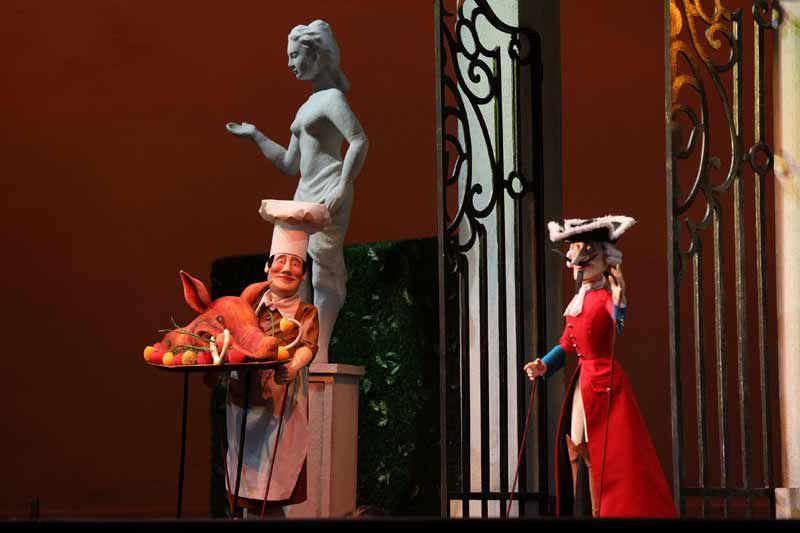 Спектакль «Барон Мюнхгаузен» в Театре кукол С. В. Образцова фото 5