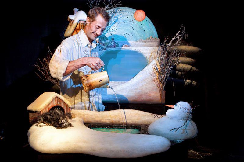 Спектакль «Снеговик» в Театре кукол им. С. В. Образцова фото 1