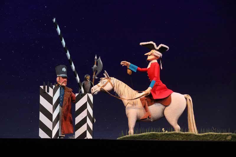 Спектакль «Барон Мюнхгаузен» в Театре кукол С. В. Образцова фото 2