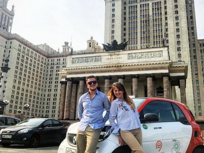 Люксовая обзорная экскурсия по Москве на автомобиле фото 1