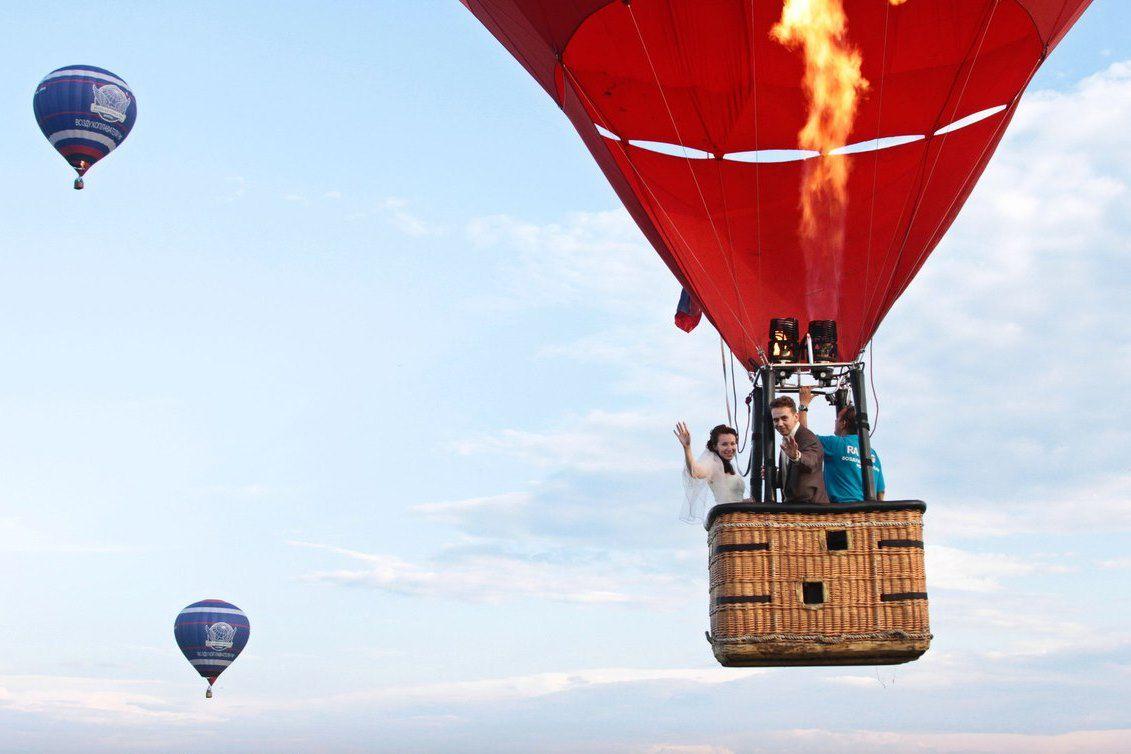 Полёт на воздушном шаре «Сердце» фото 3