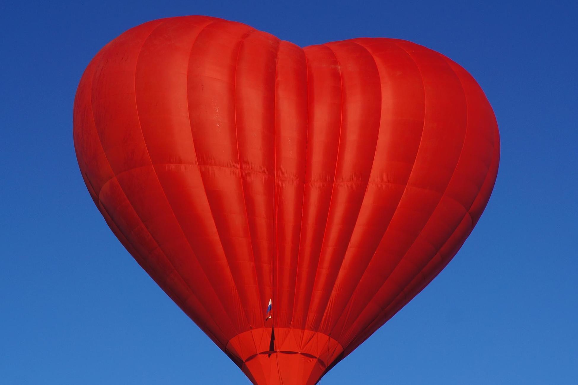 Индивидуальный полёт на воздушном шаре «Сердце» фото 1