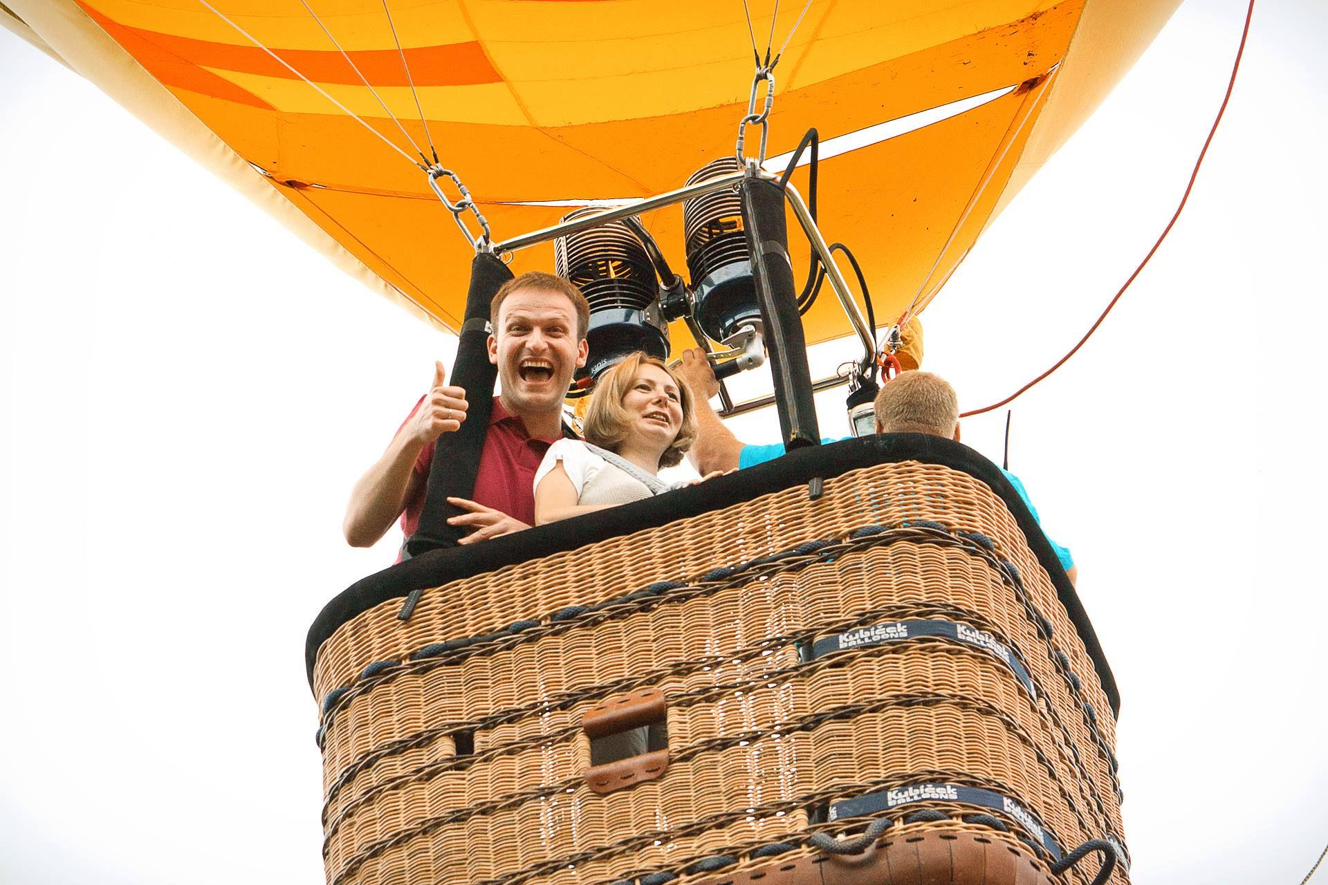 Полёт на воздушном шаре Orange фото 2