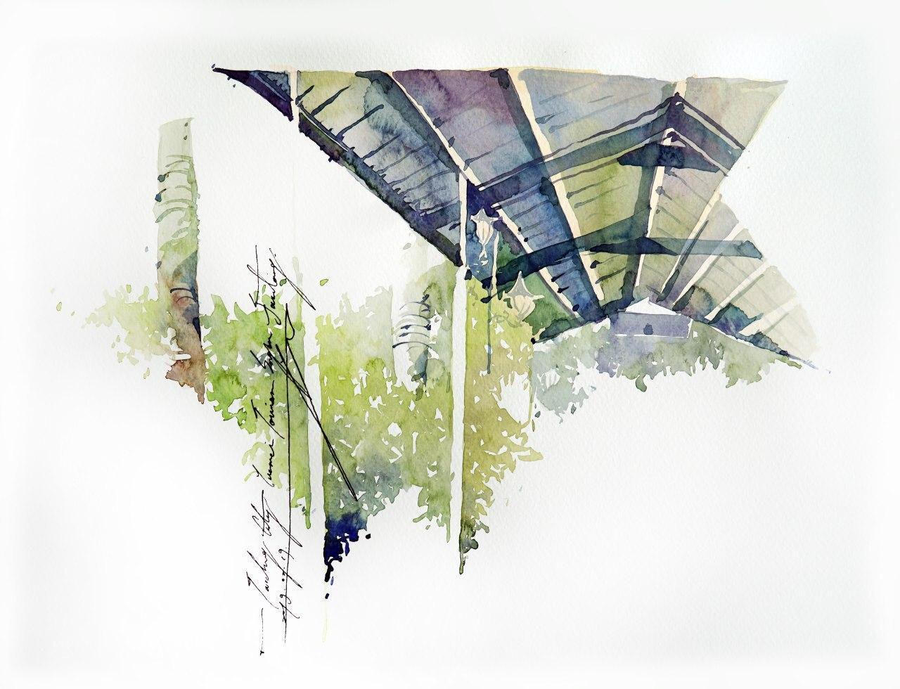Онлайн-курс «Зарисовки путешествий» с тайваньской художницей Юджи Кай от ARTLIFE ACADEMY фото 4
