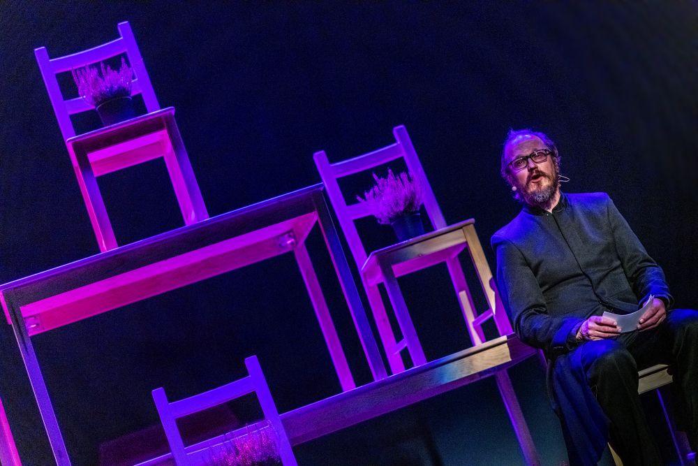 Онлайн-показ спектакля «Смерть на работе» Pop-up  театра фото 1