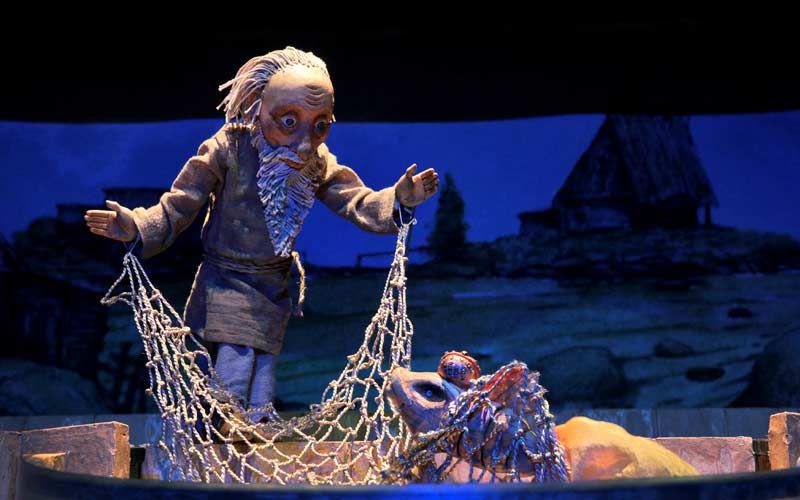 Спектакль «Сказка о рыбаке и рыбке» в Театре кукол им. С. В. Образцова фото 1